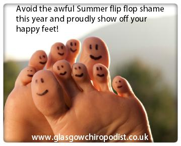 Glasgow Chiropodist - Podiatry treatment in your own home